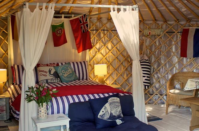 Marina Yurts
